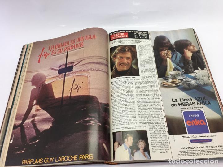 Coleccionismo de Revista Hola: FRANCO Y JUAN CARLOS I, ENCUADERNADO DE REVISTAS HOLA DESDE ENFERMEDAD DE FRANCO HASTA LA CORONACION - Foto 13 - 135162490