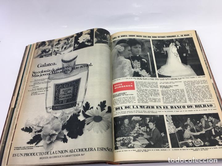 Coleccionismo de Revista Hola: FRANCO Y JUAN CARLOS I, ENCUADERNADO DE REVISTAS HOLA DESDE ENFERMEDAD DE FRANCO HASTA LA CORONACION - Foto 14 - 135162490