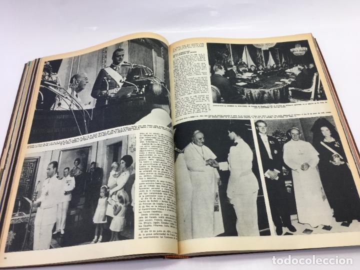 Coleccionismo de Revista Hola: FRANCO Y JUAN CARLOS I, ENCUADERNADO DE REVISTAS HOLA DESDE ENFERMEDAD DE FRANCO HASTA LA CORONACION - Foto 17 - 135162490