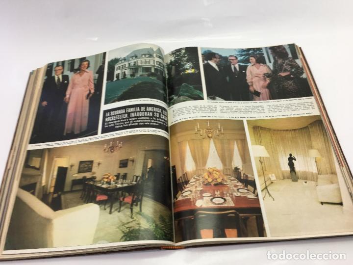 Coleccionismo de Revista Hola: FRANCO Y JUAN CARLOS I, ENCUADERNADO DE REVISTAS HOLA DESDE ENFERMEDAD DE FRANCO HASTA LA CORONACION - Foto 21 - 135162490