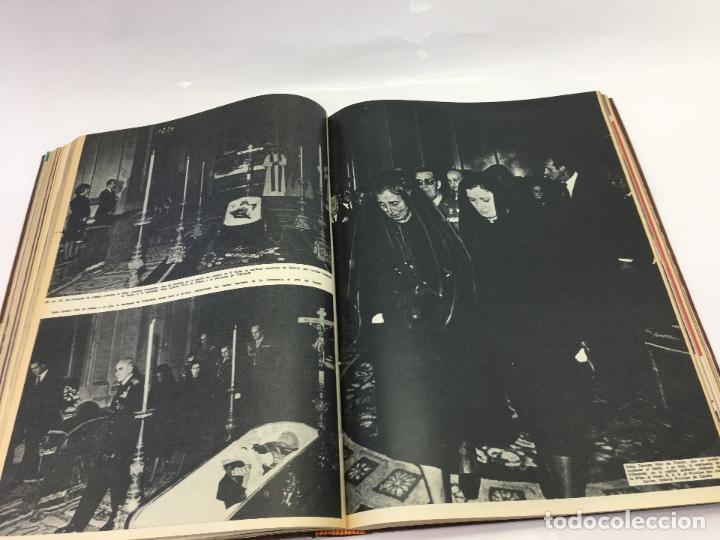 Coleccionismo de Revista Hola: FRANCO Y JUAN CARLOS I, ENCUADERNADO DE REVISTAS HOLA DESDE ENFERMEDAD DE FRANCO HASTA LA CORONACION - Foto 22 - 135162490