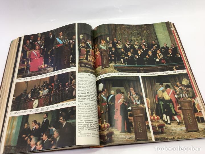 Coleccionismo de Revista Hola: FRANCO Y JUAN CARLOS I, ENCUADERNADO DE REVISTAS HOLA DESDE ENFERMEDAD DE FRANCO HASTA LA CORONACION - Foto 27 - 135162490