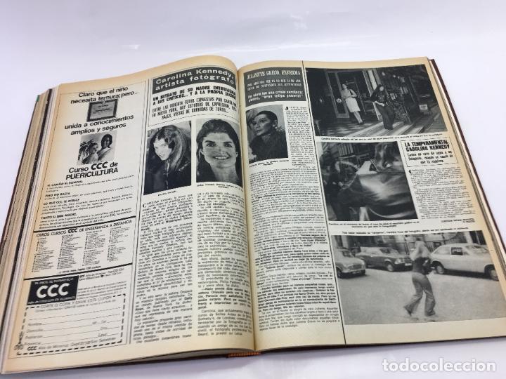 Coleccionismo de Revista Hola: FRANCO Y JUAN CARLOS I, ENCUADERNADO DE REVISTAS HOLA DESDE ENFERMEDAD DE FRANCO HASTA LA CORONACION - Foto 28 - 135162490