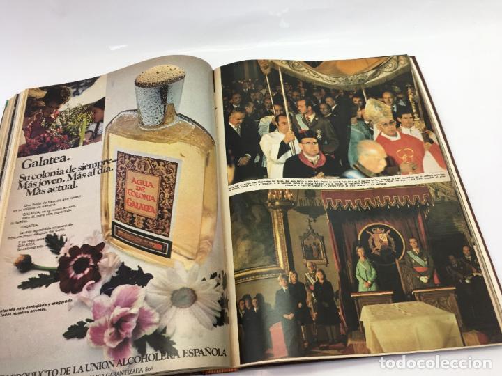 Coleccionismo de Revista Hola: FRANCO Y JUAN CARLOS I, ENCUADERNADO DE REVISTAS HOLA DESDE ENFERMEDAD DE FRANCO HASTA LA CORONACION - Foto 30 - 135162490