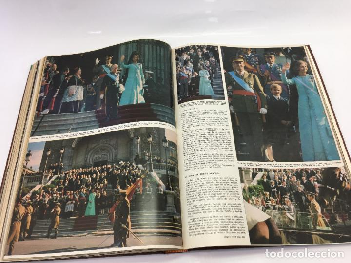 Coleccionismo de Revista Hola: FRANCO Y JUAN CARLOS I, ENCUADERNADO DE REVISTAS HOLA DESDE ENFERMEDAD DE FRANCO HASTA LA CORONACION - Foto 31 - 135162490
