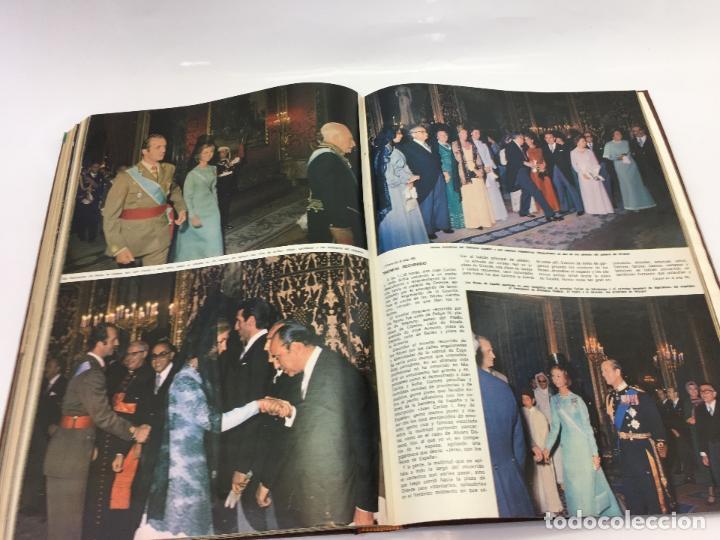 Coleccionismo de Revista Hola: FRANCO Y JUAN CARLOS I, ENCUADERNADO DE REVISTAS HOLA DESDE ENFERMEDAD DE FRANCO HASTA LA CORONACION - Foto 33 - 135162490
