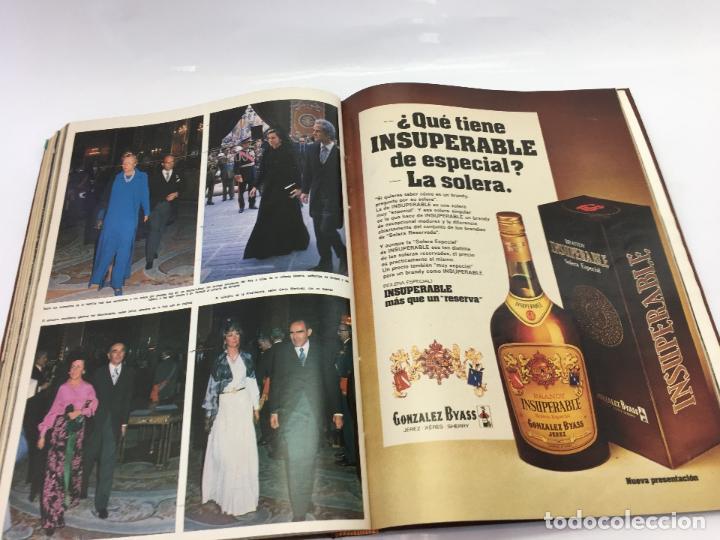 Coleccionismo de Revista Hola: FRANCO Y JUAN CARLOS I, ENCUADERNADO DE REVISTAS HOLA DESDE ENFERMEDAD DE FRANCO HASTA LA CORONACION - Foto 34 - 135162490