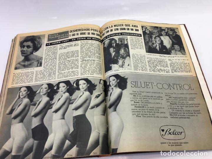 Coleccionismo de Revista Hola: FRANCO Y JUAN CARLOS I, ENCUADERNADO DE REVISTAS HOLA DESDE ENFERMEDAD DE FRANCO HASTA LA CORONACION - Foto 35 - 135162490