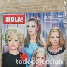 Coleccionismo de Revista Hola: REVISTA HOLA Nº 1175 1967. SHIRLEY MAC LAINE, MIA FARROW, HUSSEIN, SPENCER TRACY, URSULA ANDRESS *38. Lote 135522122