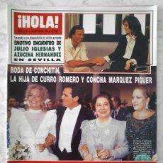 Coleccionismo de Revista Hola: HOLA - 1988 - AZUCENA HERNANDEZ, SAMANTHA FOX, GUNILLA VON BISMARCK, JULIO IGLESIAS, AMPARO MUÑOZ. Lote 50767009