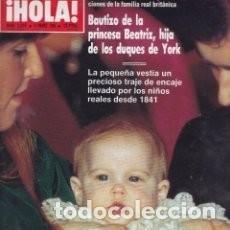 Coleccionismo de Revista Hola: REVISTA HOLA 2316 * 1989 * LOLITA * CAROLINA KENNEDY * JOHN WAYNE / PRISCILLA PRESLEY * 41. Lote 136284614