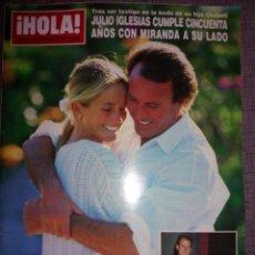 Coleccionismo de Revista Hola: REVISTA HOLA, SEPTIEMBRE 1993, NÚMERO 2564. Lote 137223486