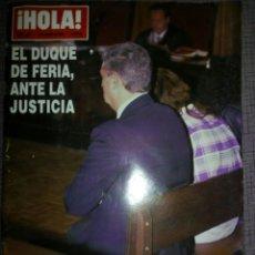 Coleccionismo de Revista Hola: REVISTA HOLA, MARZO 1994, NÚMERO 2586. Lote 137319072