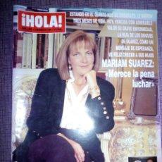 Coleccionismo de Revista Hola: REVISTA HOLA, MAYO 1994, NÚMERO 2595. Lote 137321805