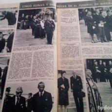 Coleccionismo de Revista Hola: CANDICE BERGEN.WILMA RUDOLPH.PAQUITA RICO BODA.HOLA Nº 1255.1968.. Lote 137445850