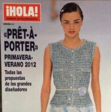 Coleccionismo de Revista Hola: HOLA .- NÚMERO EXTRAORDINARIO.- PRET A PORTER.-PRIMAVERA VERANO 2012. Lote 137807002
