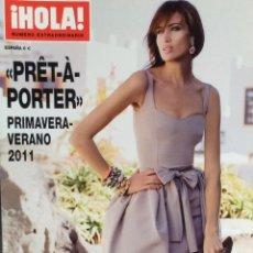 Coleccionismo de Revista Hola: HOLA .- NÚMERO EXTRAORDINARIO.- PRET A PORTER.-PRIMAVERA VERANO 2011. Lote 137807478
