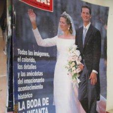 Coleccionismo de Revista Hola: REVISTA HOLA Nº 2775 AÑO 1997. BODA INFANTA CRISTINA E IÑAKI URDANGARIN. 366 PAGINAS. Lote 137916078