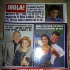 Coleccionismo de Revista Hola: REVISTA HOLA 1993, NÚMERO 2565. Lote 138916840