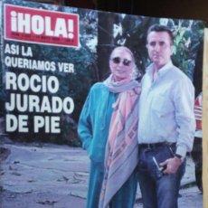 Coleccionismo de Revista Hola: ¡ HOLA ! ROCIO JURADO. Lote 139200618