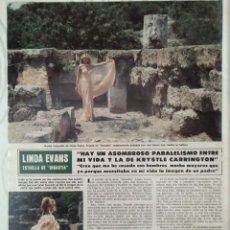 Coleccionismo de Revista Hola: RECORTE HOLA 2001 1983. LINDA EVANS. Lote 139227794