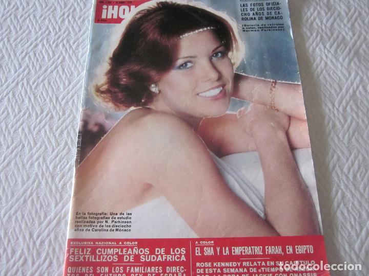 REVISTA HOLA Nº1.587 AÑO 1975 (Coleccionismo - Revistas y Periódicos Modernos (a partir de 1.940) - Revista Hola)