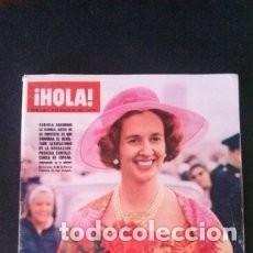 Coleccionismo de Revista Hola: HOLA 1229-1968-MIGUEL BOSE-FABIOLA-DALIDA-MEDIAS-SERRAT-EUROVISION-FALLAS-MICHELE MERCIER / 44. Lote 139631134