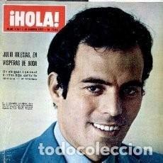 Coleccionismo de Revista Hola: REVISTA HOLA 1377 * 1971 * JULIO IGLESIAS + BEATLES + JACKIE + ROMINA POWER + SOFIA LOREN / 44. Lote 139707282