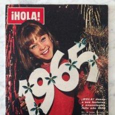 Colecionismo da Revista Hola: HOLA - 1965 - MARISOL, GIGLIOLA CINQUETTI, BRIGITTE BARDOT, LOLITA FLORES, AURORA BAUTISTA, THYSSEN. Lote 73673659