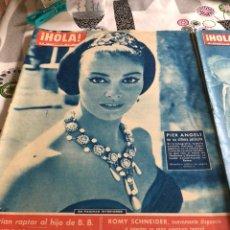 Coleccionismo de Revista Hola: LOTE DE 10 REVISTAS DE HOLA AÑOS 60. Lote 140226974