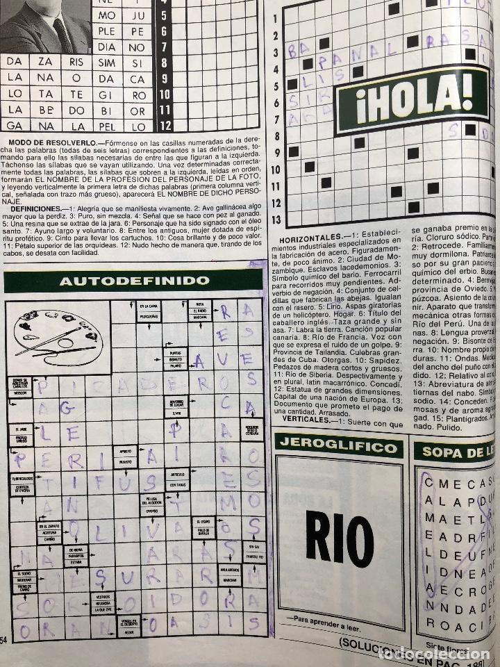Coleccionismo de Revista Hola: Revista Hola, número 2642, 30 marzo 1995 - Foto 2 - 140476306
