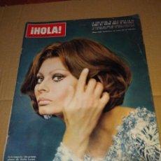 Coleccionismo de Revista Hola: HOLA ( SOFIA LOREN, MARK SPITZ, MARISA BERENSON, BURT REYNOLDS, ONASSIS, . Lote 140801746