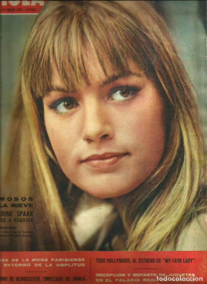 hola ( catherine spaak, my fair lady ( audrey h - Buy Magazine Hola at  todocoleccion - 140803290