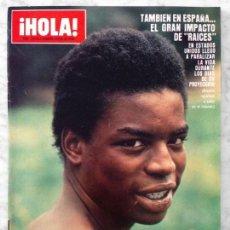 Coleccionismo de Revista Hola: HOLA - 1979 - LEVAR BURTON, RAÍCES, SYLVESTER STALLONE, BARBARA BOUCHET, KARINA, AMPARO RIVELLES. Lote 61922252