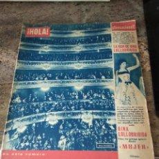 Coleccionismo de Revista Hola: HOLA ABRIL 1955 / GINA LOLLOBRIGIDA ..... Lote 142071294