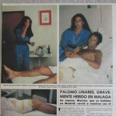 Coleccionismo de Revista Hola: RECORTE REVISTA HOLA 1826 1979 PALOMO LINARES. Lote 142883058