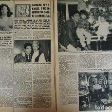 Collezionismo di Rivista Hola: RECORTE REVISTA HOLA 2061 1984BARBARA REY. TOLDERIA, OLE OLE, MIGUEL GALLARDO, LAUREN POSTIGO. . Lote 142886470