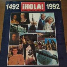 Coleccionismo de Revista Hola: ¡HOLA! NÚMERO ESPECIAL ESPAÑA 92. Lote 143026502