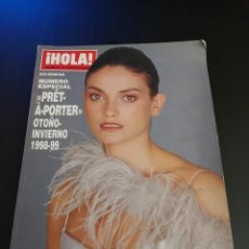Collectionnisme de Magazine Hola: REVISTA HOLA NÚMERO EXTRAORDINARIO ESPECIAL MODA PRET A PORTER AÑO 1998 LAURA PONTE. Lote 143222346