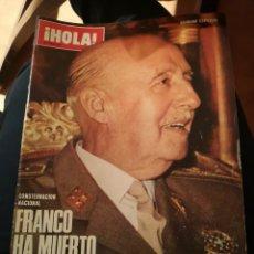 Coleccionismo de Revista Hola: LOTE 11 REVISTAS ¡HOLA!. Lote 143224656