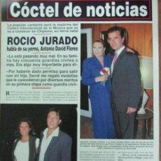Coleccionismo de Revista Hola: RECORTE HOLA 2776 1997 ROCIO JURADO . Lote 143258678