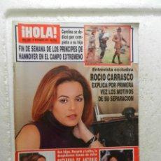 Collectionnisme de Magazine Hola: HOLA REVISTA Nº 2885 - NOVIEMBRE 1999 - ENTIERRO DE ANTONIO EL PESCAILLA . Lote 143340250