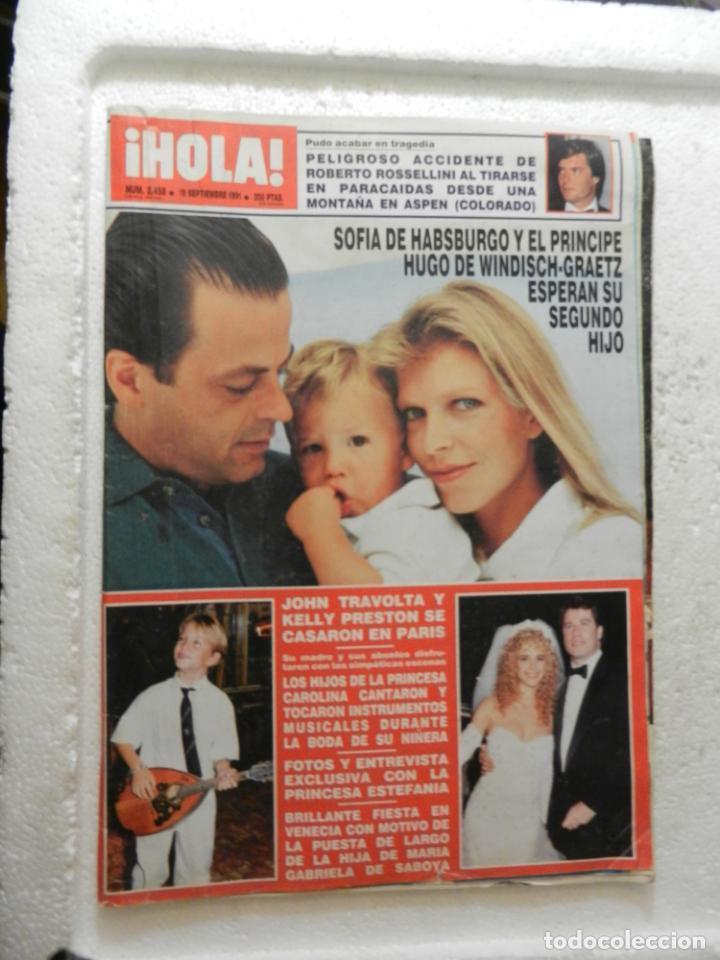HOLA REVISTA Nº 2458 - SEPTIEMBRE 1991 - LOS PRINCIPES HEREDEROS DE EUROPA (Coleccionismo - Revistas y Periódicos Modernos (a partir de 1.940) - Revista Hola)