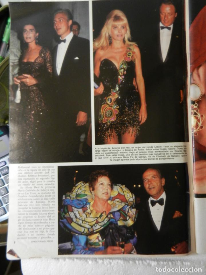 Coleccionismo de Revista Hola: HOLA REVISTA Nº 2458 - SEPTIEMBRE 1991 - LOS PRINCIPES HEREDEROS DE EUROPA - Foto 3 - 143341206