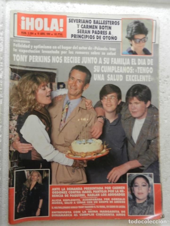 HOLA REVISTA Nº 2384 - ABRIL 1990 - IRMA SORIANO - ISABEL PANTOJA (Coleccionismo - Revistas y Periódicos Modernos (a partir de 1.940) - Revista Hola)