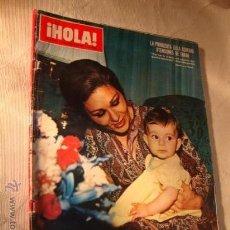 Coleccionismo de Revista Hola: HOLA 1375-1971-RITA HAYWORTH-FARAH DIBA-AGUA BRAVA-ALAIN DELON-AUDREY HEPBURN-MUNGO JERRY-FABIOLA*47. Lote 145740758