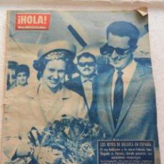 Coleccionismo de Revista Hola: HOLA REVISTA Nº 936 AGOSTO 1962 - LOS REYES DE BELGICA EN ESPAÑA. Lote 145883018