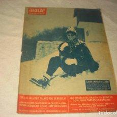 Coleccionismo de Revista Hola: ¡ HOLA ! Nº 911. CLAUDIA CARDINALE EN LA NIEVE .. Lote 146073014