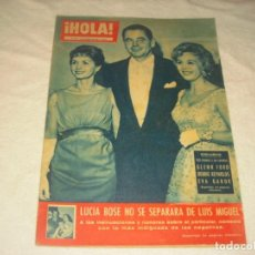 Coleccionismo de Revista Hola: ¡ HOLA ! Nº 759, MARZO 1959 , GLENN FORD, BEBBIE REYNOLDS , EVA GAVOR.LUCIA BOSE NO SE SEPARA.. Lote 146092678