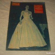 Coleccionismo de Revista Hola: ¡ HOLA ! Nº 634 , OCTUBRE 1956. LA ALEMANA PETRA SCHURMANN , ELEGIDA MISS MUNDO.. Lote 146095822